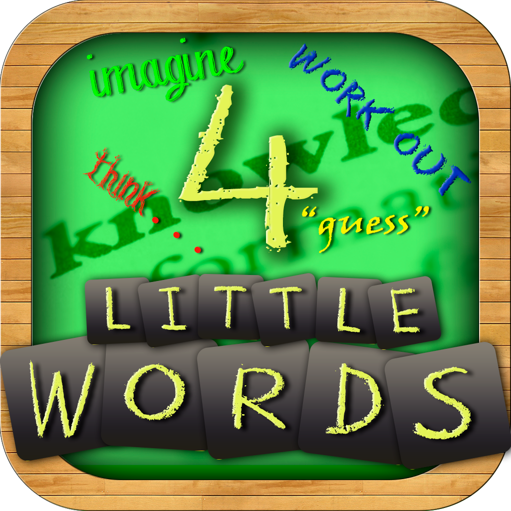 4 Little Words: FREE What's the word puzzle game